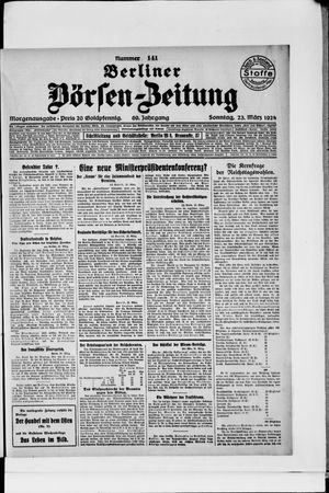 Berliner Börsen-Zeitung vom 23.03.1924