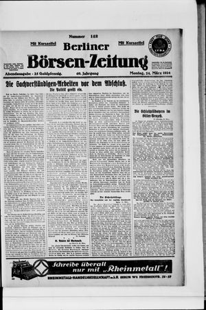 Berliner Börsen-Zeitung vom 24.03.1924