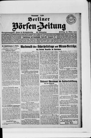Berliner Börsen-Zeitung vom 28.03.1924