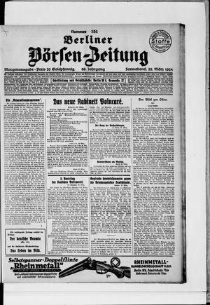 Berliner Börsen-Zeitung vom 29.03.1924
