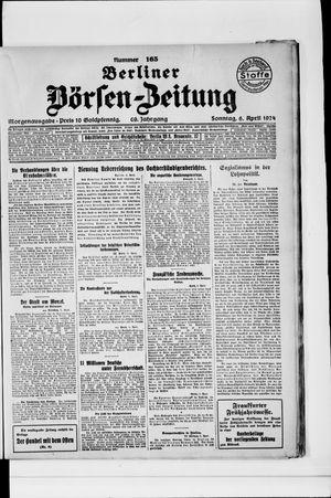 Berliner Börsen-Zeitung vom 06.04.1924