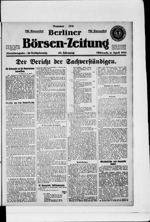 Berliner Börsen-Zeitung vom 09.04.1924