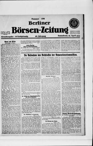 Berliner Börsen-Zeitung vom 12.04.1924