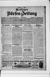 Berliner Börsen-Zeitung (14.12.1924)