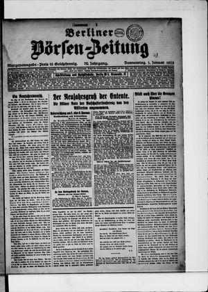 Berliner Börsen-Zeitung vom 01.01.1925