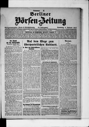 Berliner Börsen-Zeitung vom 04.01.1925