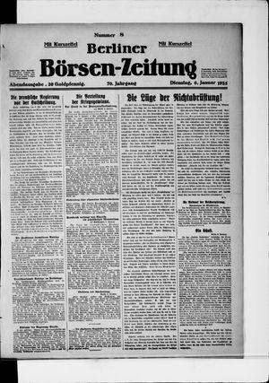 Berliner Börsen-Zeitung vom 06.01.1925