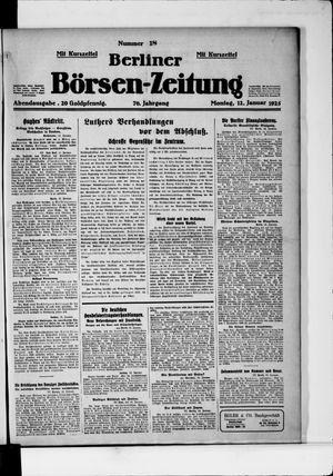 Berliner Börsen-Zeitung vom 12.01.1925