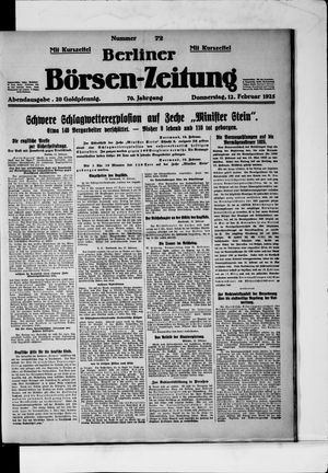 Berliner Börsen-Zeitung vom 12.02.1925