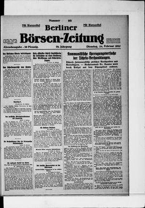 Berliner Börsen-Zeitung vom 24.02.1925