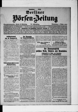 Berliner Börsen-Zeitung vom 03.03.1925
