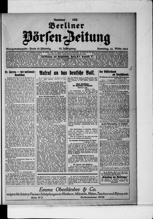 Berliner Börsen-Zeitung vom 15.03.1925
