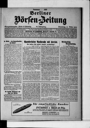 Berliner Börsen-Zeitung on Mar 17, 1925