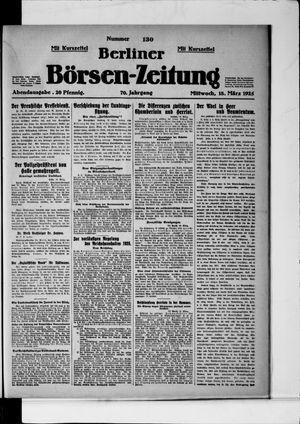 Berliner Börsen-Zeitung vom 18.03.1925