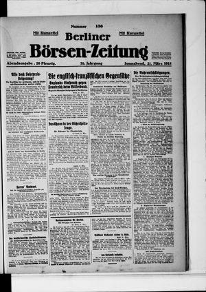Berliner Börsen-Zeitung on Mar 21, 1925