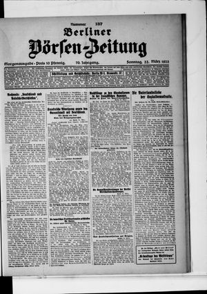 Berliner Börsen-Zeitung vom 22.03.1925