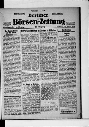 Berliner Börsen-Zeitung vom 24.03.1925