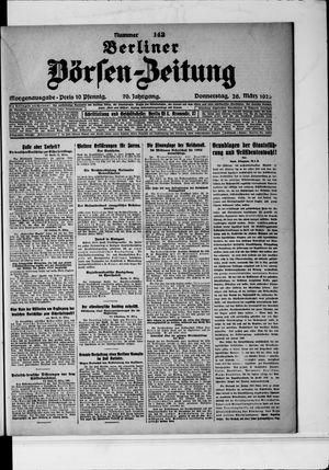 Berliner Börsen-Zeitung vom 26.03.1925
