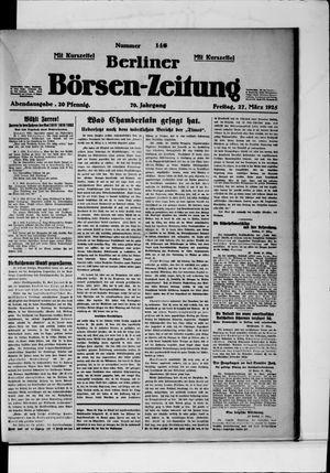 Berliner Börsen-Zeitung on Mar 27, 1925