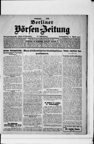 Berliner Börsen-Zeitung on Apr 4, 1925