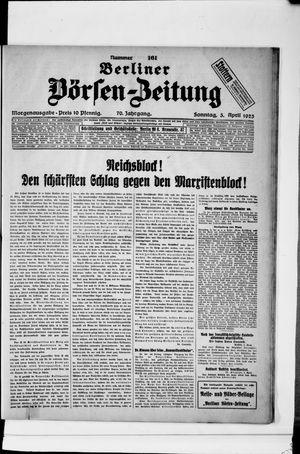Berliner Börsen-Zeitung on Apr 5, 1925