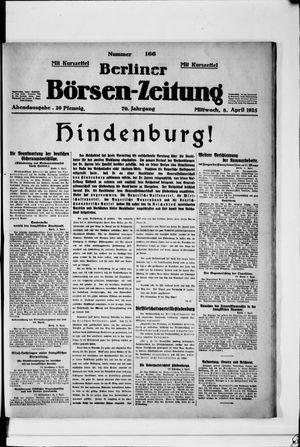 Berliner Börsen-Zeitung on Apr 8, 1925