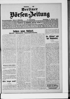 Berliner Börsen-Zeitung vom 17.01.1926
