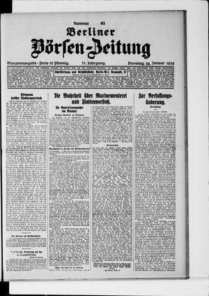 Berliner Börsen-Zeitung vom 26.01.1926