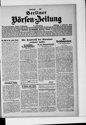 Berliner Börsen-Zeitung vom 05.02.1926