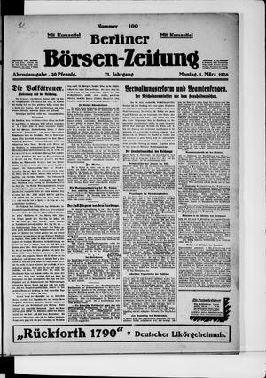 Berliner Börsen-Zeitung vom 01.03.1926
