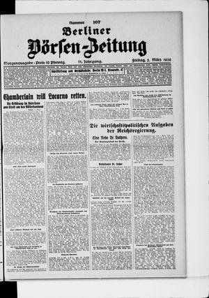Berliner Börsen-Zeitung vom 05.03.1926