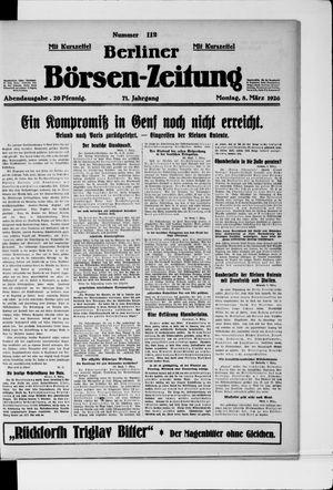 Berliner Börsen-Zeitung vom 08.03.1926