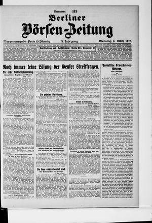 Berliner Börsen-Zeitung vom 09.03.1926