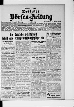 Berliner Börsen-Zeitung vom 13.03.1926