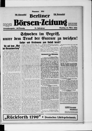 Berliner Börsen-Zeitung vom 15.03.1926
