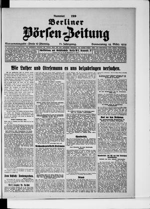 Berliner Börsen-Zeitung on Mar 18, 1926
