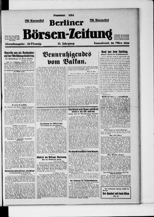 Berliner Börsen-Zeitung vom 20.03.1926