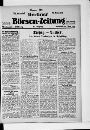 Berliner Börsen-Zeitung vom 23.03.1926
