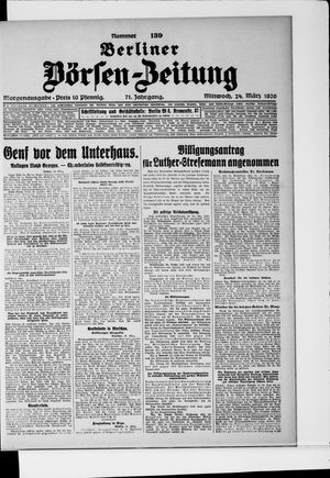 Berliner Börsen-Zeitung vom 24.03.1926