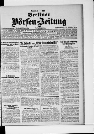 Berliner Börsen-Zeitung vom 25.03.1926