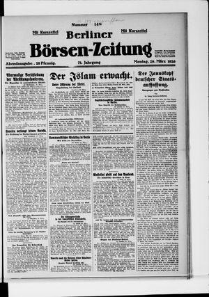 Berliner Börsen-Zeitung vom 29.03.1926