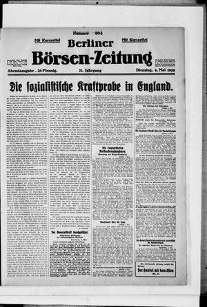 Berliner Börsen-Zeitung vom 04.05.1926