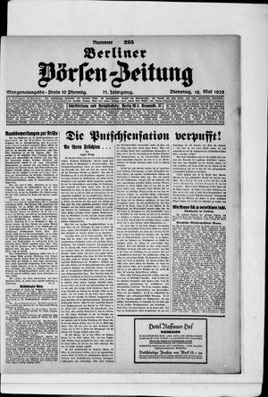 Berliner Börsen-Zeitung vom 18.05.1926