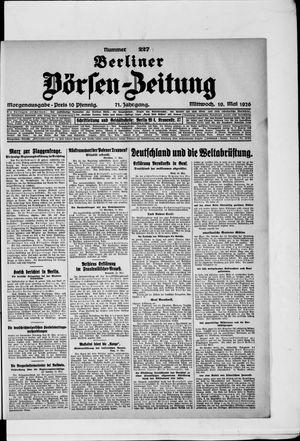 Berliner Börsen-Zeitung vom 19.05.1926