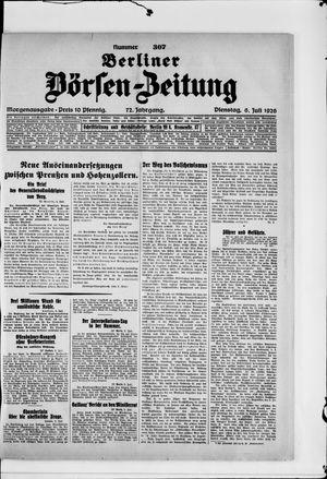 Berliner Börsen-Zeitung vom 06.07.1926