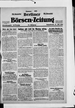 Berliner Börsen-Zeitung vom 17.07.1926