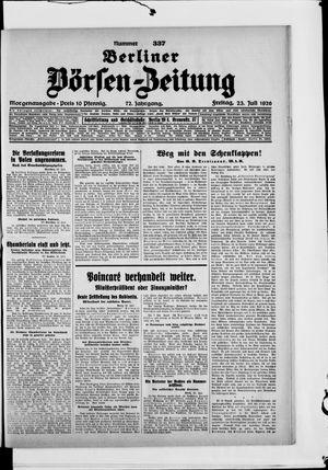 Berliner Börsen-Zeitung vom 23.07.1926