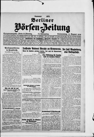 Berliner Börsen-Zeitung vom 12.08.1926