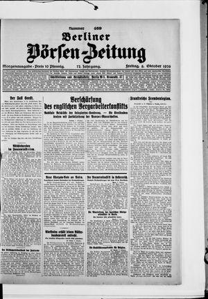 Berliner Börsen-Zeitung vom 08.10.1926