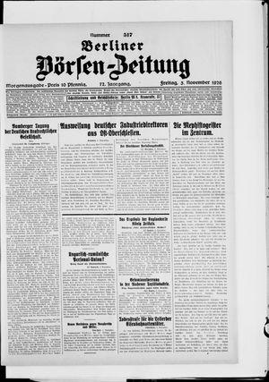 Berliner Börsen-Zeitung vom 05.11.1926